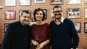 Josep Roca y enologos
